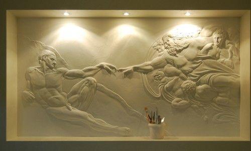 Фото - Створення барельєфа в інтер'єрі своїми руками