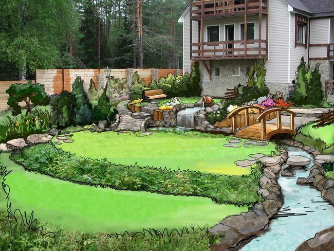 Створення інтер'єру садової ділянки