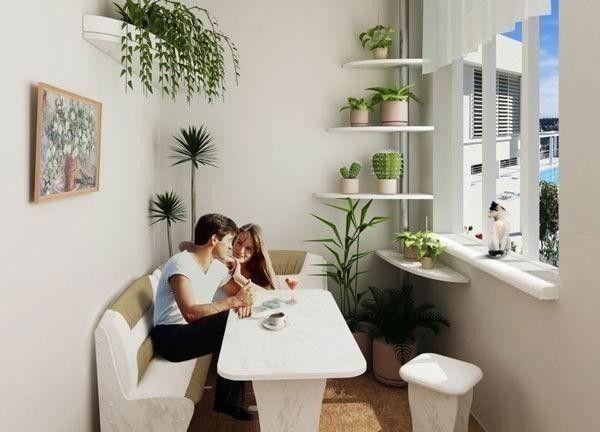 Створення меблів для балкона своїми руками