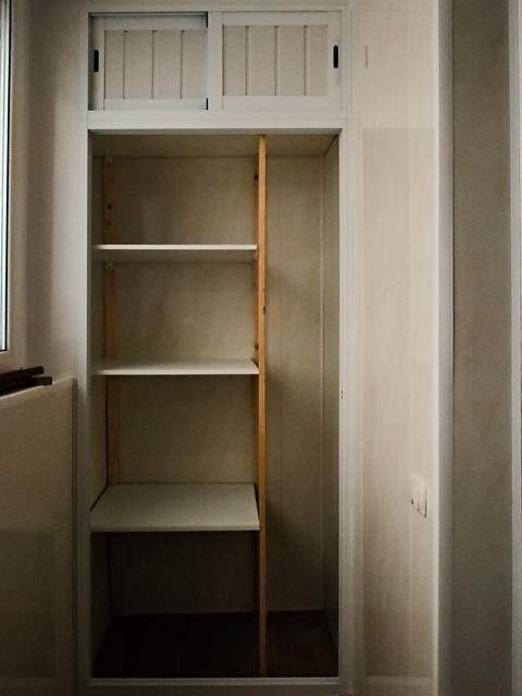 Балкон з вбудованим шафою