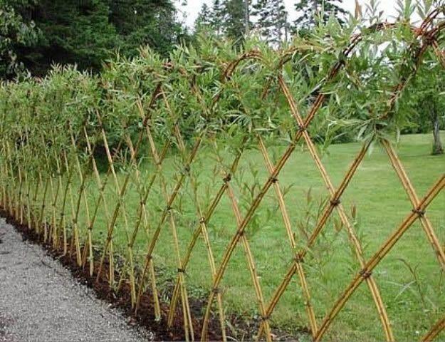 Фото - Створення оригінального паркану з дерева