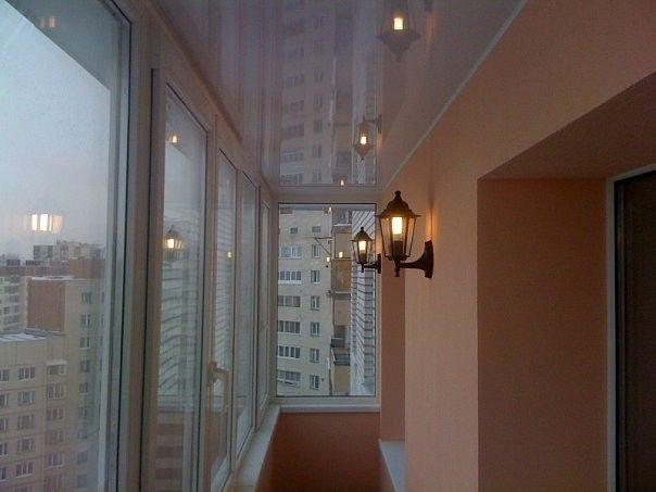 Фото - Створення освітлення на балконі