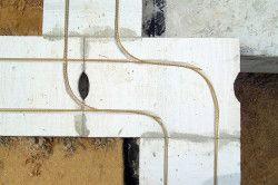 Приклад армування піноблоків у дверних і віконних прорізів