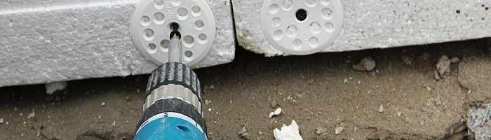 Фото - Способи надійного кріплення пінопласту