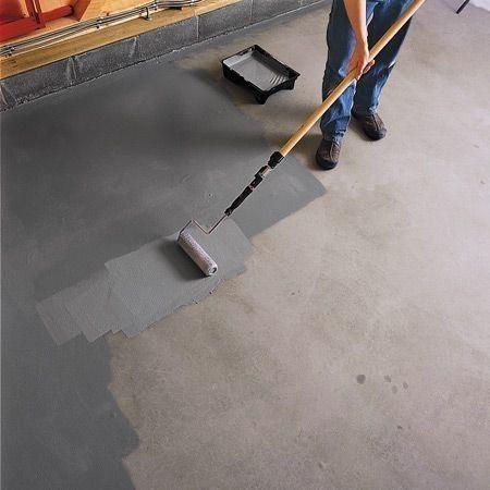 Просочення використовується для захисту підстави бетону від впливу зовнішнього середовища, для знепилювання й додання міцності.