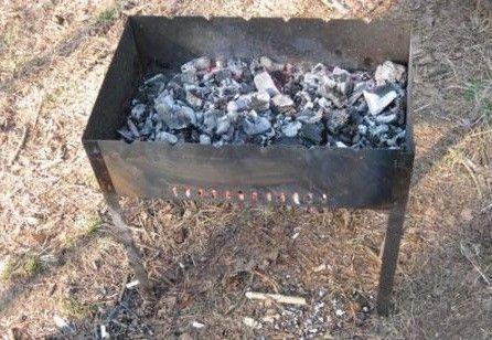 Фото - Способи розпалювання вугілля в мангалі