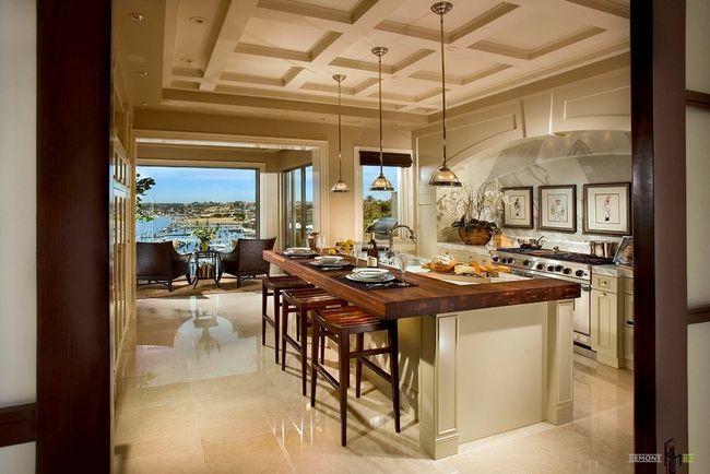 Фото - Середземноморський стиль в інтер'єрі кухні - творчий підхід до практичної обстановці