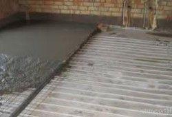 ремонт підлог в хрущовці