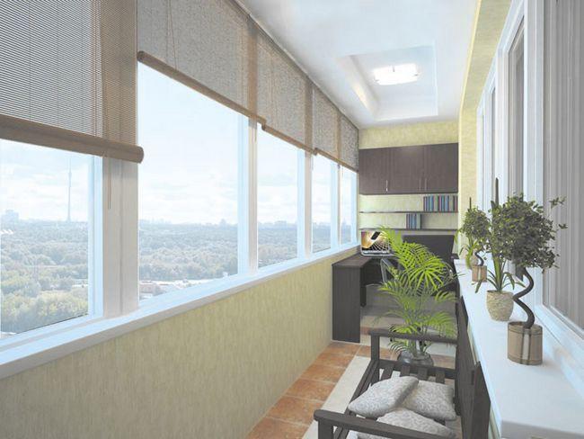 Фото - Стелаж на балкон