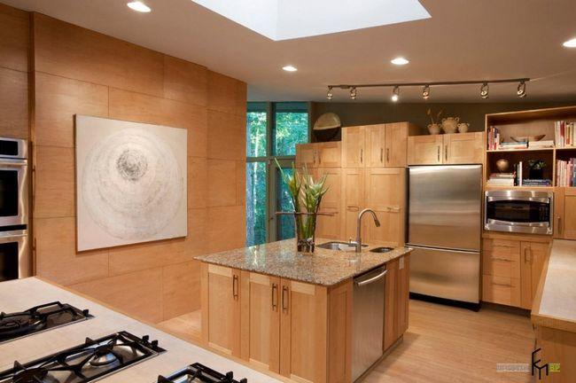 Фото - Стінові панелі: яскравий дизайн і компромісні рішення для кухні
