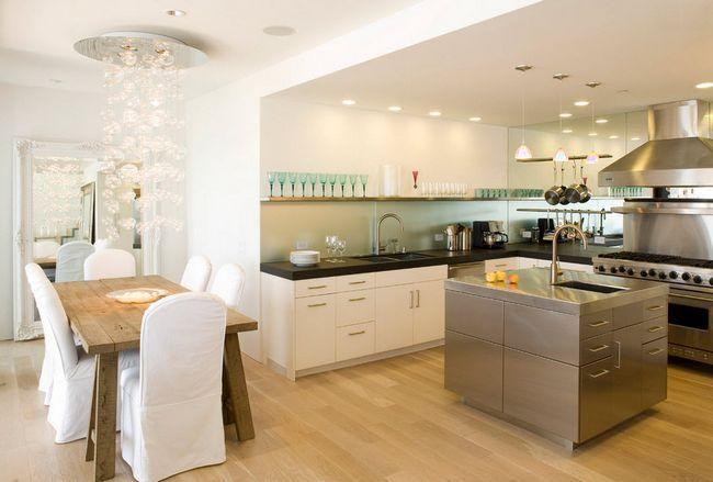 Фото - Стильне освітлення на кухні: від класики до авангарду