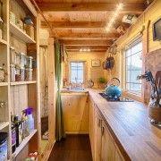 Краса натурального дерева в інтерєрі кухні
