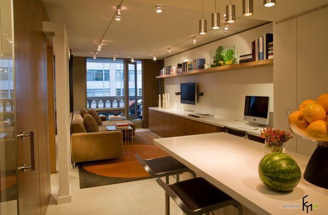 Фото - Стильний інтер'єр в квартирі 60 кв.м