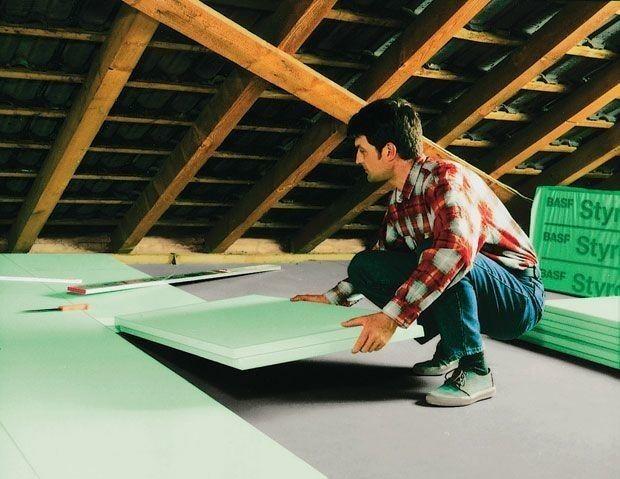 Фото - Стяжка підлоги з пінополістиролом