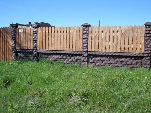 Деревяний паркан