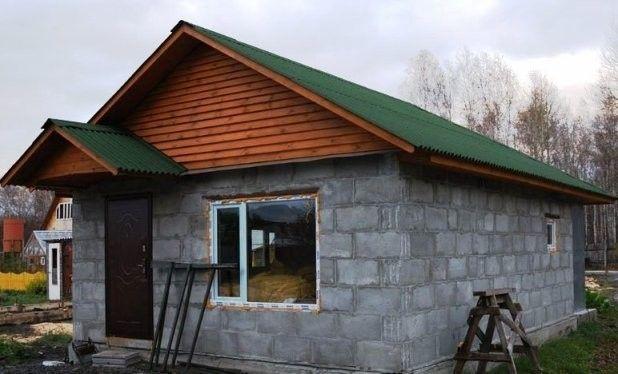 Фото - Будівництво лазні з газобетону