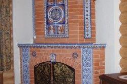 Декоративне оздоблення домашній печі-каміна