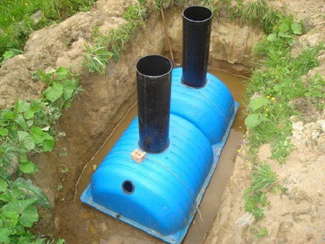 Фото - Будівництво системи каналізації в приватному будинку
