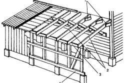 Схема будівництва веранди