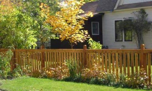 Фото - Будівництво паркану для огородження присадибної ділянки