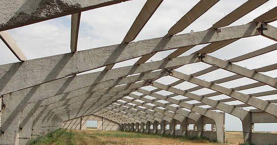 Фото - Кроквяні конструкції із залізобетону
