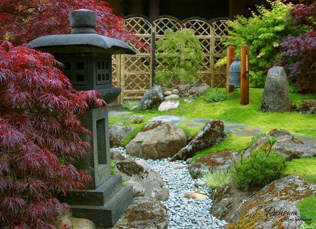 Фото - Сухий струмок - ідилія в саду