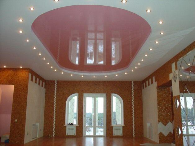 Фото - Світильники з гіпсокартону додатково прикрасять стельові поверхні