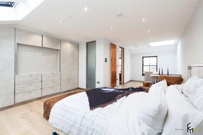 Фото - Світлий інтер'єр квартири в стилі лофт
