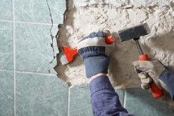 Демонтаж старої плитки