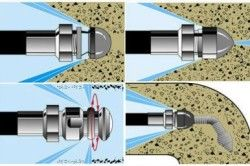 Схема промивання труб