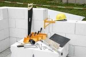 Товщина стіни з газобетону