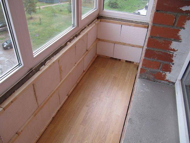 Фото - Технологія кладки піноблоків на балконі