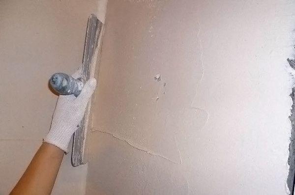Фото - Технологія нанесення шпаклівки на стіну