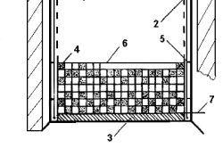 Схема конструкції з керамічної плитки