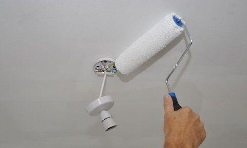 Фото - Технологія фарбування стелі своїми руками