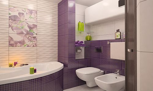 Оформлення ванній пластиковими панелями