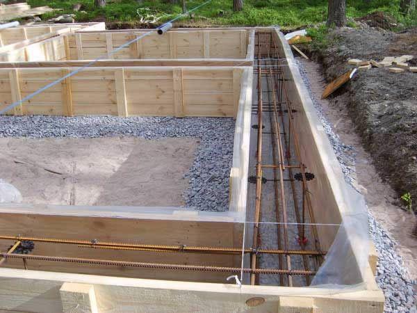 Фото - Технологія будівництва стрічкового фундаменту