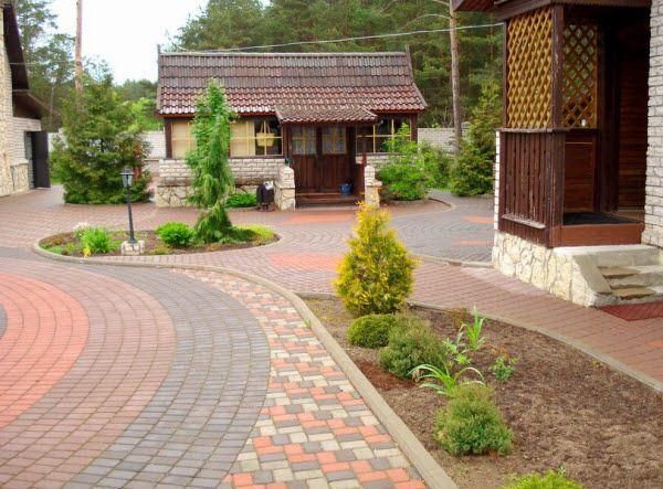 Фото - Технологія укладання бруківки та плитки для тротуарів