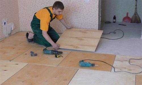 Фото - Технологія укладання фанери на бетонну підлогу