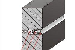 Схема утеплення і герметизації міжпанельних шва