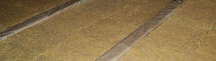 Фото - Технологія утеплення підлоги мінеральною ватою