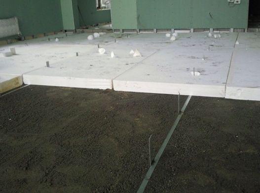 Фото - Технологія утеплення підлоги за допомогою пінопласту