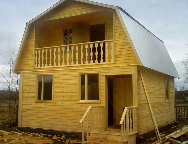 Фото - Технологія зведення дачного будинку