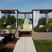 Ідеальний варіант тераси на даху