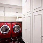 Червоні пральні машини