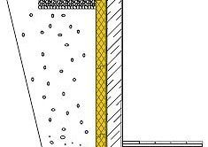 Схема укладання пінополістиролу на стіну.