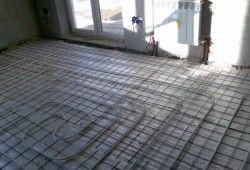 Теплі підлоги і відсутність радіаторів в кімнаті