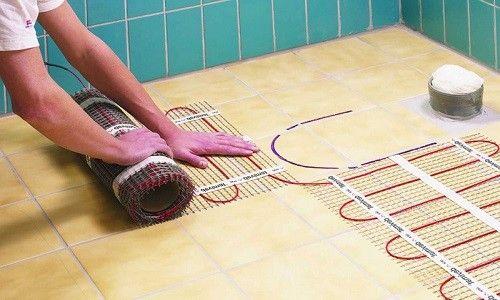 Фото - Тепла підлога у ванній