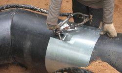Використання термоусаджуваної муфти