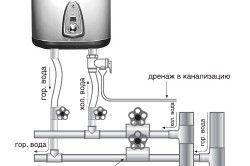 Схема проточного водонагрівача